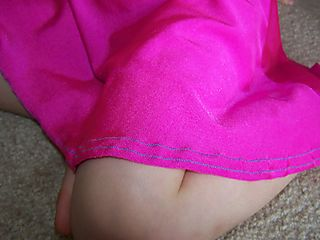 Kennedy's new swimsuit trim along bottom