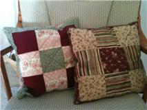 Bailey's PIllows - Mommy's and Nana's