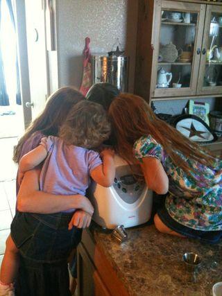 Peering into the bread machine
